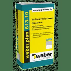 weber.plan 813-10, 25kg - Bodennivelliermasse bis 10 mm