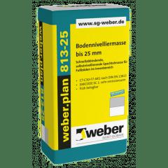 weber.plan 813-25, 25kg - Bodennivelliermasse bis 25 mm
