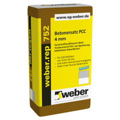 weber.rep 752, 25kg - Betonersatz PCC 4 mm