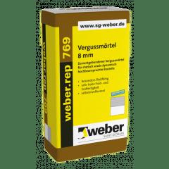 weber.rep 769, 25kg - Vergussmörtel 8 mm