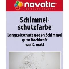 novatic Schimmelschutzfarbe AF53 - weiß