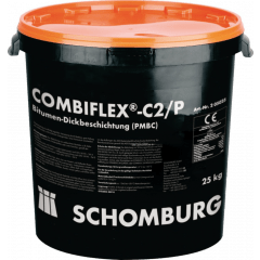 Schomburg COMBIFLEX-C2/P, 25kg - 2K-Bitumen-Dickbeschichtung
