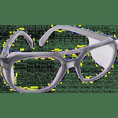 Schutzbrille mit Seitenschutz, EN166, zum Schleifen