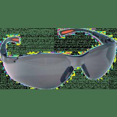 Schutzbrille, grau getönt, Bügel verstellbar, EN166