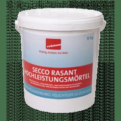 redstone Secco Rasant Hochleistungsmörtel - 15kg