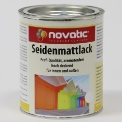 novatic Seidenmattlack KD25 (Satinlack)