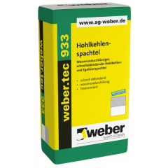 weber.tec 933, 25kg - Hohlkehlenspachtel