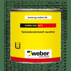 weber.tec 971, grau - Tankstellendichtstoff standfest