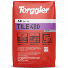 Torggler Tile 480 | Fliesenkleber - grau - 25kg