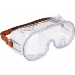 Vollsicht-Schutzbrille mit Ventilation, EN166 F