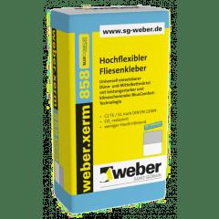 weber.xerm 858 BlueComfort - Hochflexibler Fliesenkleber