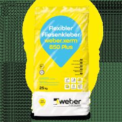 weber.xerm 850 Plus, 25kg - Flexibler Fliesenkleber