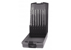 QUAD-SDS plus Hammerbohrer-Kassette, 7-teilig 5-12mm