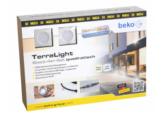 beko TerraLight Basis 4er-Set eckig 60x60mm
