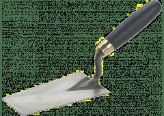 Putzkelle 'Berner Form', Bandstahl - 140mm