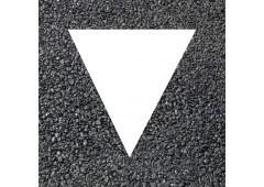 BORNIT Fertigmarkierung Dreieck, weiß - 500x600mm, 25Stück