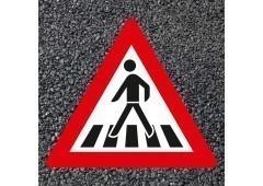BORNIT Verkehrszeichen VZ 101-11 Fußgängerüberweg