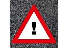 BORNIT Verkehrszeichen VZ 101 Gefahrenstelle
