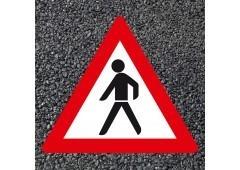 BORNIT Verkehrszeichen VZ 133 Fußgänger