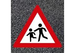 BORNIT Verkehrszeichen VZ 136 Spielende Kinder