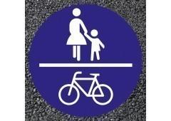 BORNIT Verkehrszeichen VZ 240 gemeinsamer Geh- u. Radweg