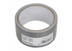 Gewebe-Reparaturband silber, 48mm x 10m - Power-Tape