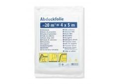 Abdeckfolie HDPE - 4x5m, 0,005mm stark