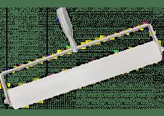Entlüftungsrolle 50cm breit, Stachellänge 10mm