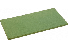 Ersatzbelag 8mm grün, für Reibebrett 140x280mm