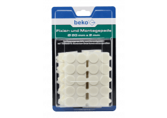 beko Fixier- und Montagepads, d=20mm x 2mm - 300St./Pack