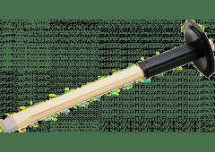Flachmeißel, 350x23x13mm, mit Handschutz