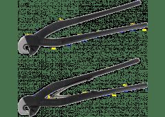 Fliesenlochzange, schwarz, 200mm