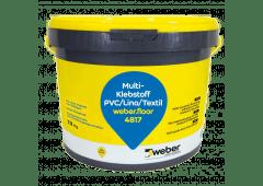 weber.floor 4817 - Multi-Klebstoff PVC/Lino/Textil - 13kg