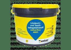 weber.floor 4820 - Linoleum- und Textilbelagsklebstoff - 11kg