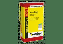 weber.fug 872 F, 25kg - Schnellfuge