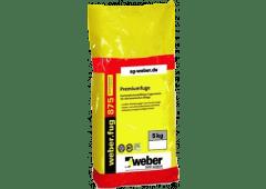 weber.fug 875 BlueComfort, 5kg - Premiumfuge - pergamon