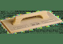 Gasbeton-Schleifbrett 240x480mm, mit Schleifbelag K16