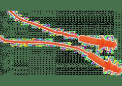 Gehörschutzstöpsel m. Sicherheitstrageband, SNR:25dB