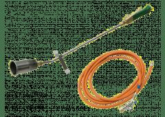 Grün Starkbrenner-Set ST65/800 mit 10m Schlauch