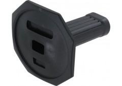 Handschutz für Meißel, schwarz - Länge: 110mm