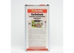 novatic Karboleum AD54 - dunkelbraun - 5ltr