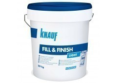 Knauf Fill & Finish Light - Füll- u. Feinspachtelmasse Leicht, 20kg