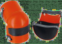 Knieschoner mit Gelenk, Gummieinsatz schwarz, 1 Paar, Stufe 2