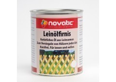 novatic Leinölfirnis XX02 - farblos - 750ml