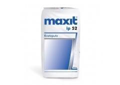 maxit ip 52 - Edel-Kratzputz, weiß, 30kg