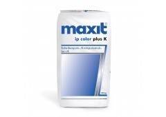 maxit ip color plus K - Scheibenputz, weiß - 30kg