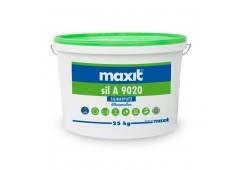 maxit sil A 9020 K - Silikat-Scheibenputz, außen, weiß - 25kg