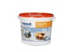 maxit Solarputz - Siliconharz-Scheibenputz, weiß - 22kg