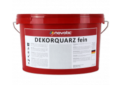 novatic Dekorquarz fein DP03 - weiß