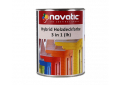 novatic Hybrid-Holzdeckfarbe 3in1 (lh)